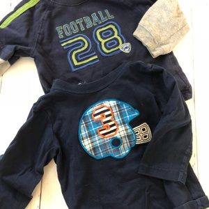 Other - BOYS 18MO FOOTBALL LONG SLEEVE SHIRT BUNDLE